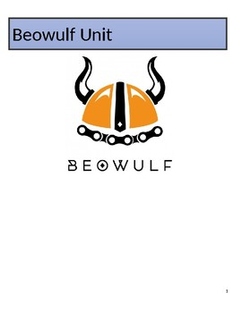 Beowulf Unit Packet