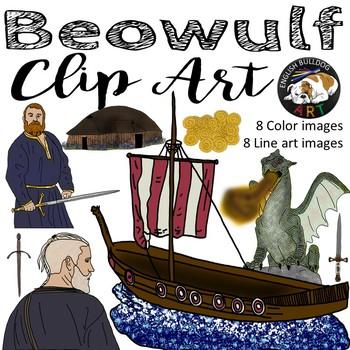 Beowulf Viking Clip Art
