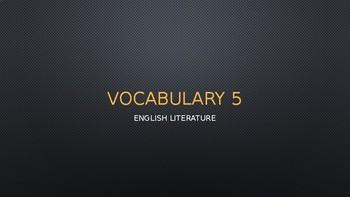 Beowulf Vocabulary PPT