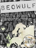 Beowulf Discussion & Writing Prompts