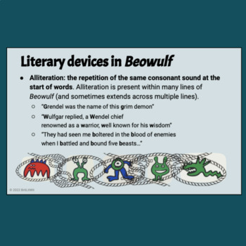 Beowulf Background PowerPoint