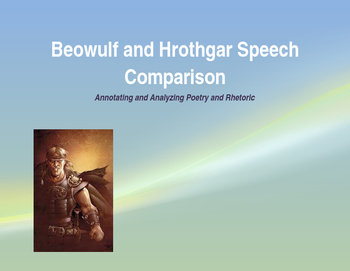 Beowulf and Hrothgar Speech Comparison