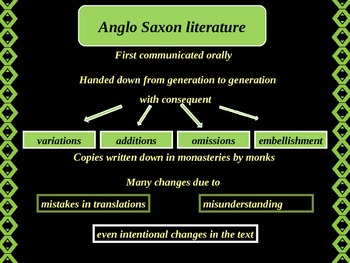 Beowulf and the Anglo-Saxon literature