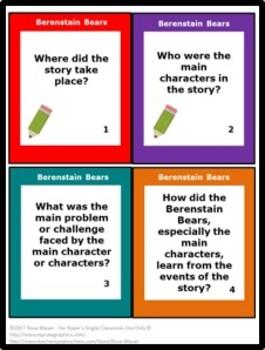 Berenstain Bears Free Literacy Activity
