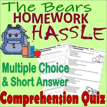 the berenstain bears homework hassle 1 2