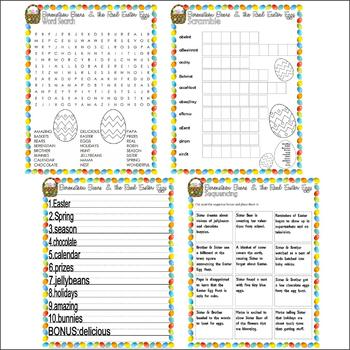 Berenstain Bears Real Easter Eggs : Comprehension Activities Book Companion