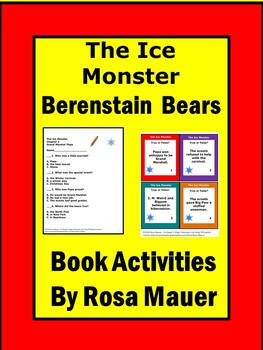 Berenstain Bears The Ice Monster Literacy Book Unit