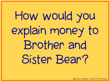 Berenstain Bears' Trouble With Money Literature Unit for the Promethean Board