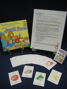 The Berenstain Bears and Too Much Junk Food English parent pack
