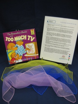 The Berenstain Bears and Too Much TV English parent pack