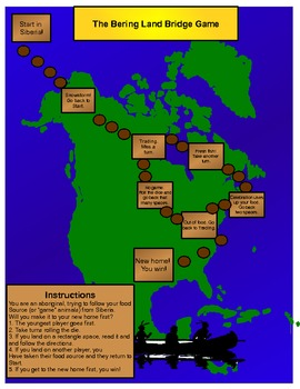 Bering Land Bridge Game