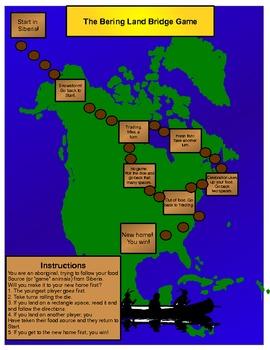 Bering Land Bridge Game