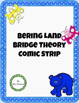 Early Inhabitants Bering Land Bridge-Native Americans-Comic Strip