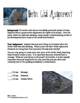 Berlin Wall Art Assignment