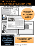 Berlin Wall & Berlin Airlift Lesson