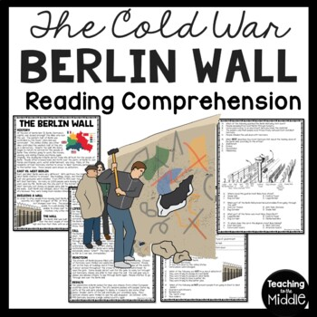 Cold War- Berlin Wall Reading Comprehension Worksheet DBQ,