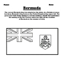 Bermuda Flag & Create Your Own Flag Worksheet
