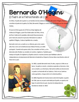 Bernardo O'Higgins: El Padre de la Patria Irlandés de Chile