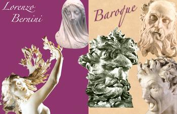 Gian Lorenzo Bernini - Baroque Art History - Sculpture - FREE POSTER