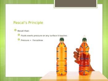 Bernoulli's & Pascal's Principle PowerPoint