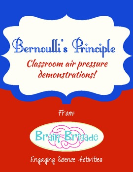 Bernoulli's Principle | Three Air Pressure Demonstrations & Experiments STEM