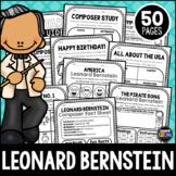 NEW! Bernstein, Classical Composer, August, Autumn, Handwriting, Music, Piano