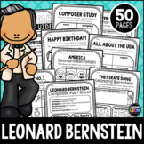 Leonard Bernstein Composer Listening Activities, August