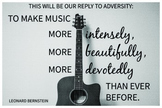 Bernstein Quote Poster