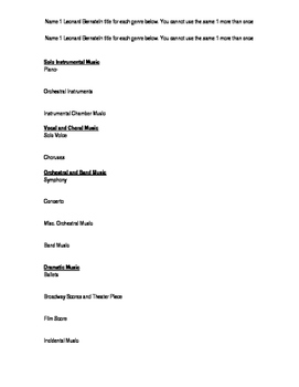Bernstein/Sondiem PowerPoint Homework Assignment 1