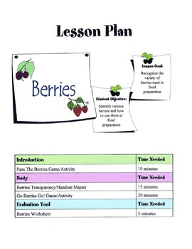 Berries Lesson