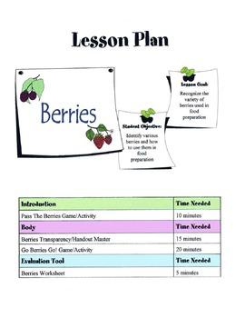 Berries Lesson