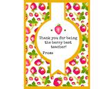 Berry Best Printable