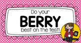 Berry Best Testing Treat