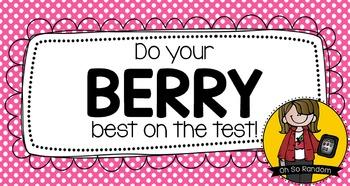 Berry Best Testing Treat
