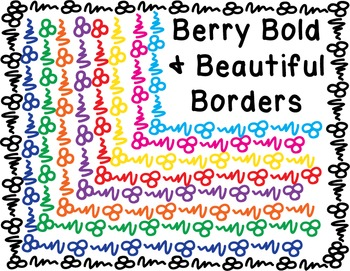 Borders - Berry Bold Beautiful Pack #1