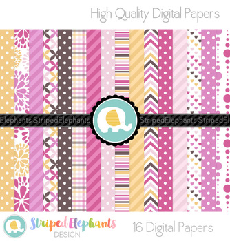 Berry Candy Digital Papers