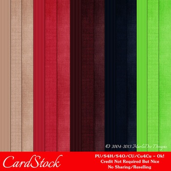 Berry Colors Cardstock Digital Papers