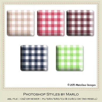 Berry Colors Gingham Pattern Texture Photoshop Style