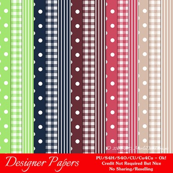 Berry Colors Pattern Digital Papers