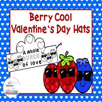 Berry Cool Valentine's Day Hats