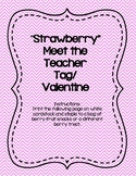 Berry Excited Meet the Teacher Tag