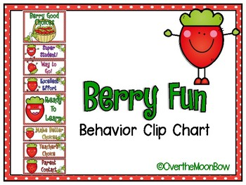 Berry Fun Behavior Clip Chart