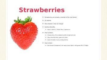 Berry Palooza Nutrition Education