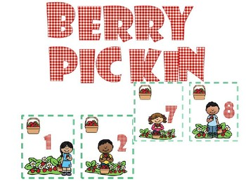 Berry Pickin' Math game
