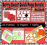 Berry Sweet Quick Pages