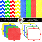 Berry Sweet U-Pick Power Pack of Frames and Papers