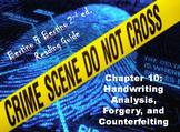 Bertino Forensics 2e. Reading Guide - Chapter 10: Handwriting Analysis