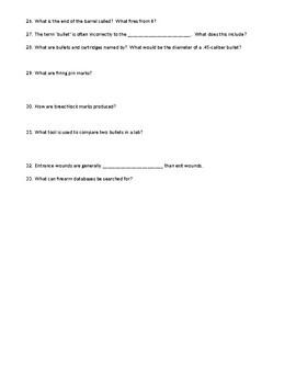 Bertino Forensics 2e. Reading Guide - Chapter 18