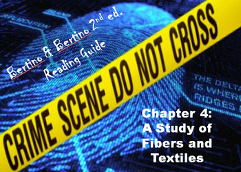 Bertino Forensics 2e. Reading Guide - Chapter 4