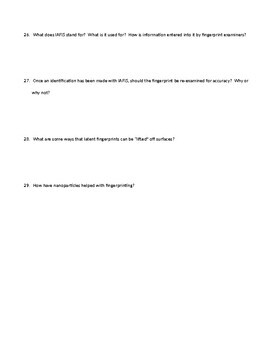 Bertino Forensics 2e. Reading Guide - Chapter 6